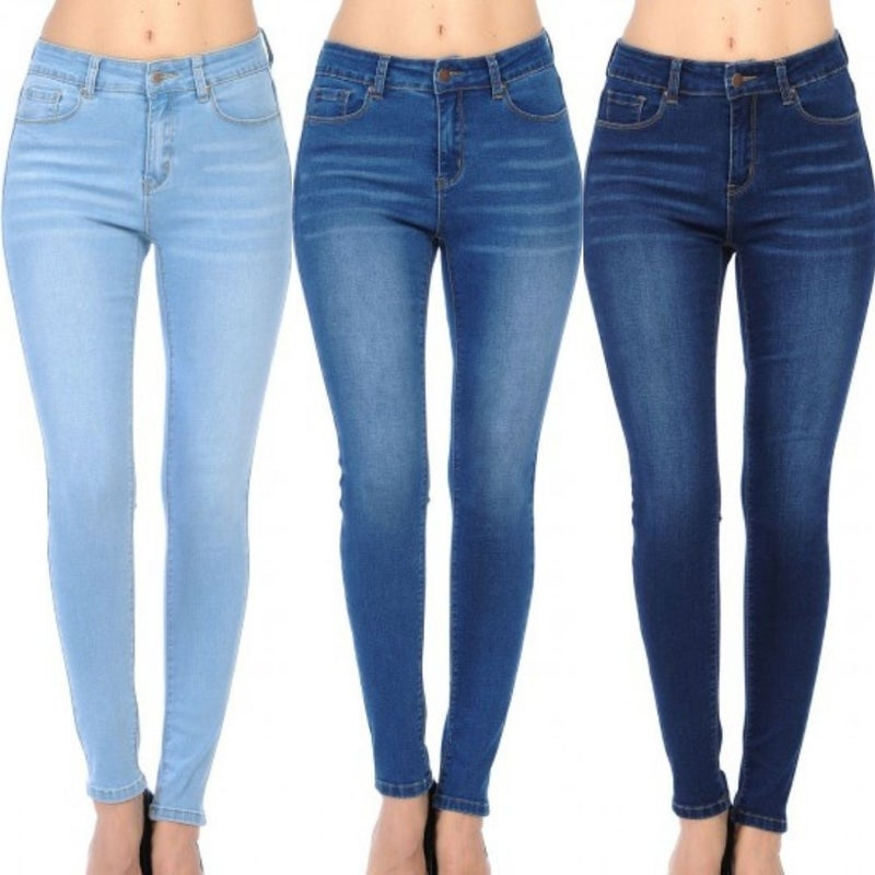 WX Stretch High Rise Skinny Jeans