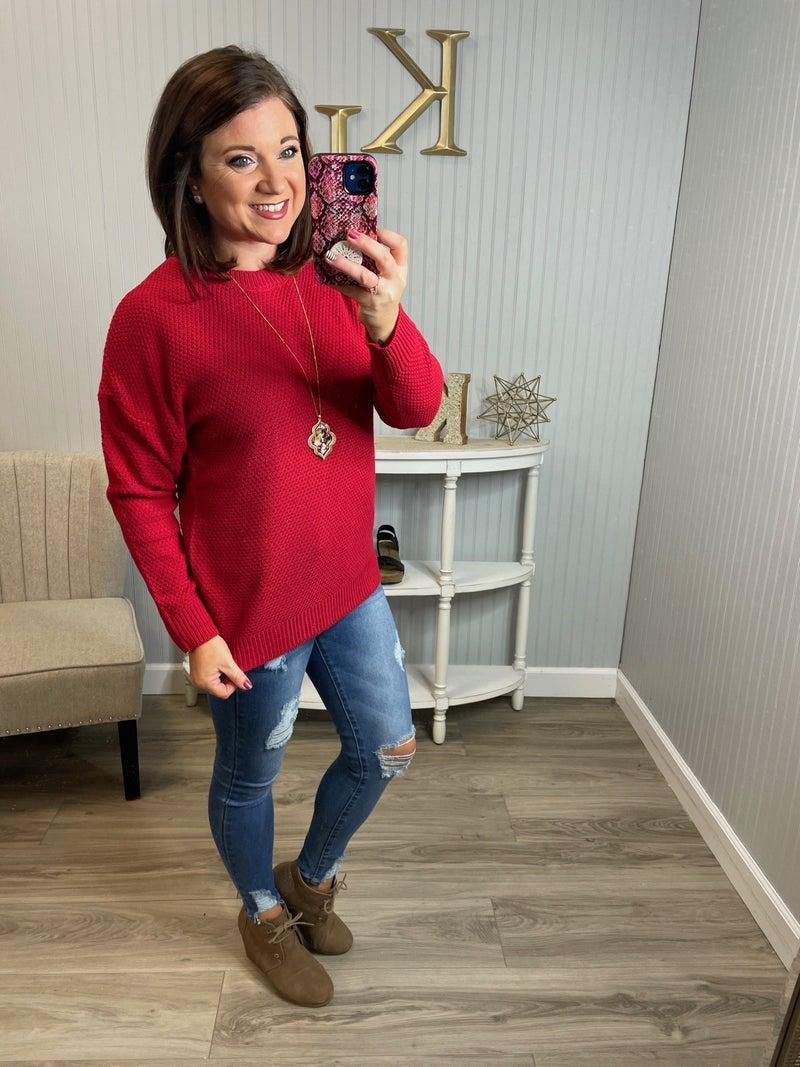Z Round Neck Sweater