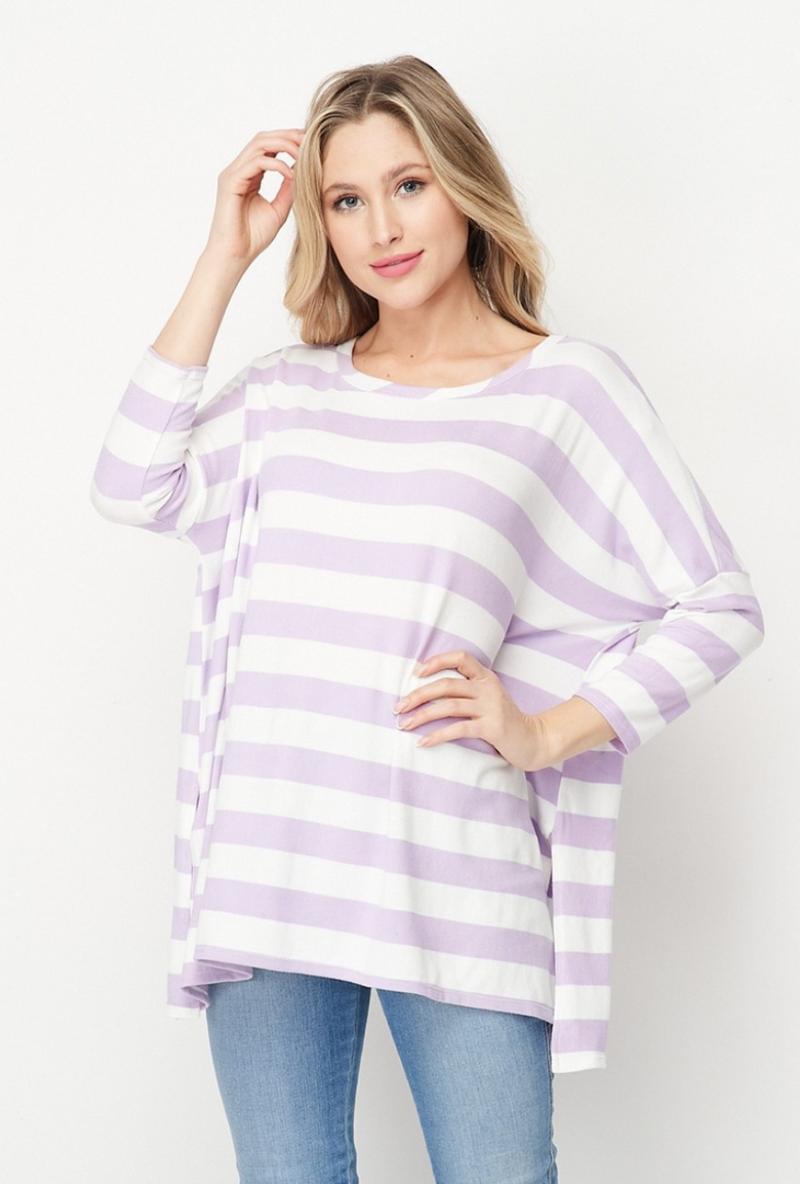HM Soft Striped Top