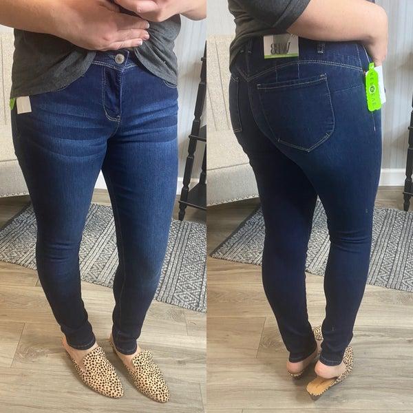 WBB Dark Wash Full Length Jeans