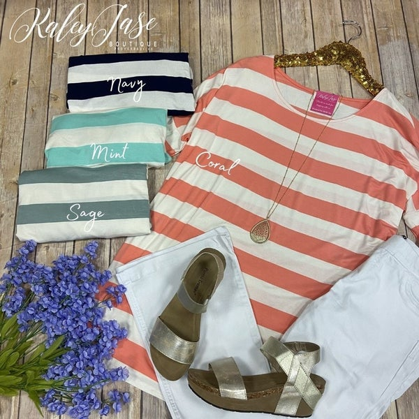 Z Striped Tunic