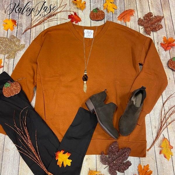 Almond Long Sleeve Sweatshirt