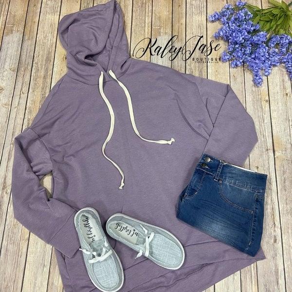 HM Lilac Drawstring Hoodie *Final Sale*