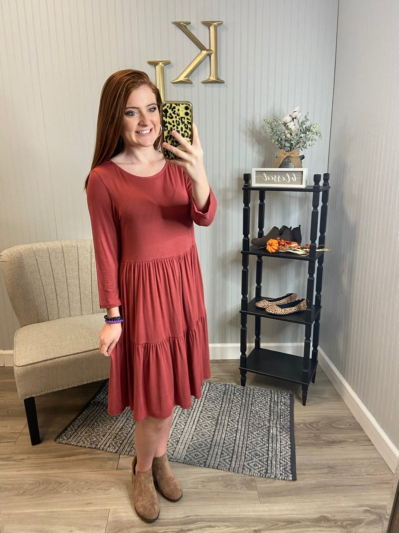 PR Tiered Dress