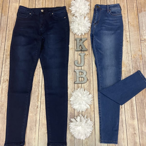 YMI Hyperstretch Denim Colored Jeggings