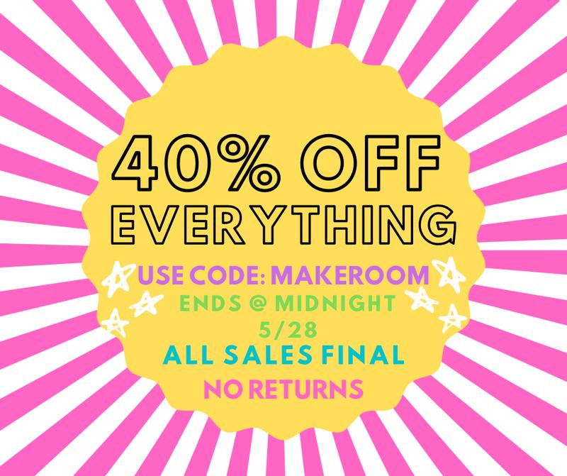 40% OFF SALE Details
