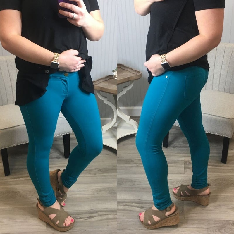 Colored Jeggings