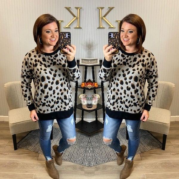 HM Heather Black Speckle Raglan Sweatshirt