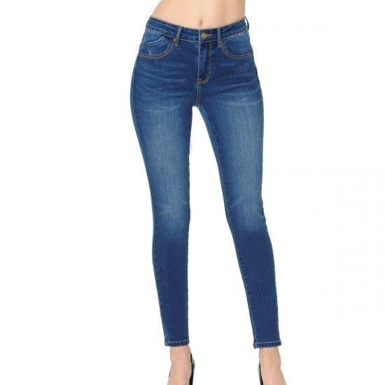 WX Butt-Lifting High-Rise Skinny Jeans