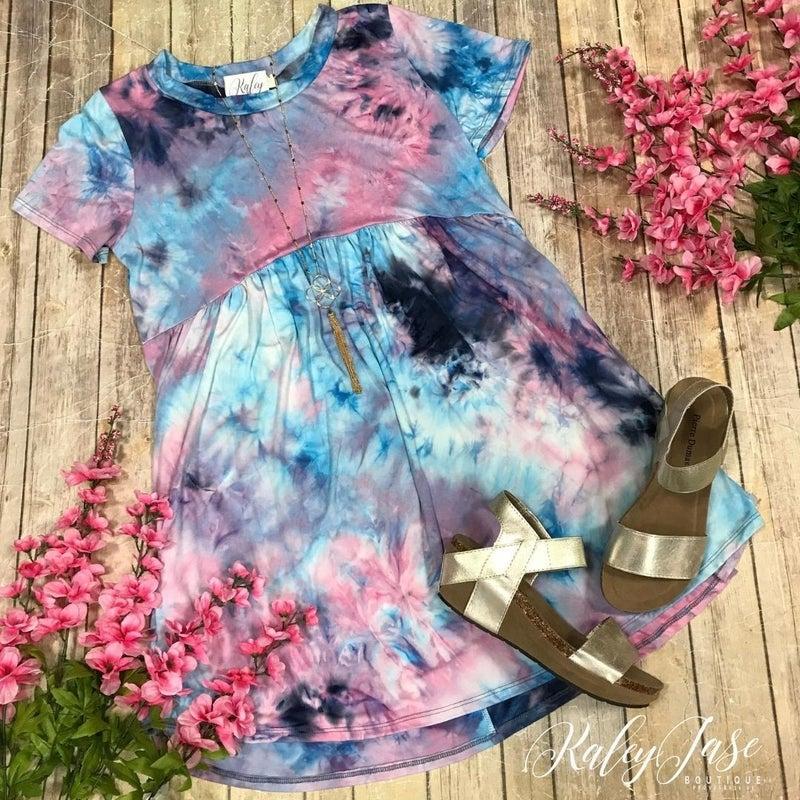 Tie Dye Lavender Babydoll