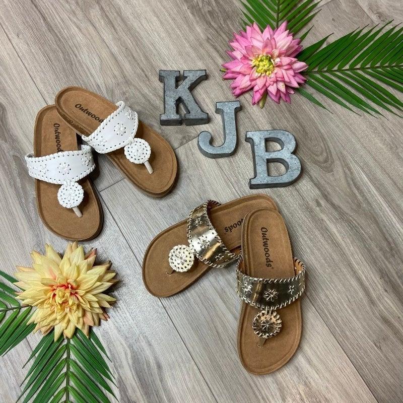 Thick Sole Designer Inspired Sandal