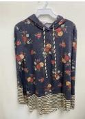 Sew In Love LA Floral Hoodie