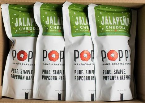 Poppy Jalapeno Chedder Popcorn