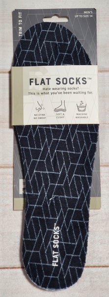 Men's Powerstep Flat Socks