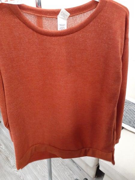 Sew In Love LA Rust Sweater