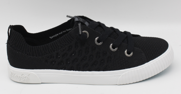 Black Free Spirit Knit Blowfish Sneakers