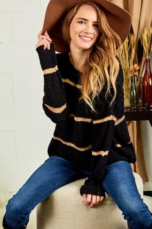 Metallic Vibes Sweater