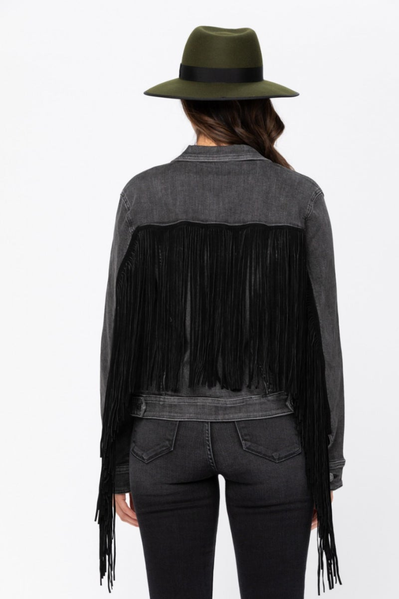 Hanging On By A Thread Jacket