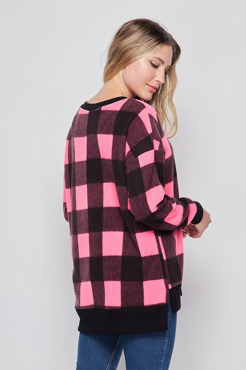 Plaid To See You Top