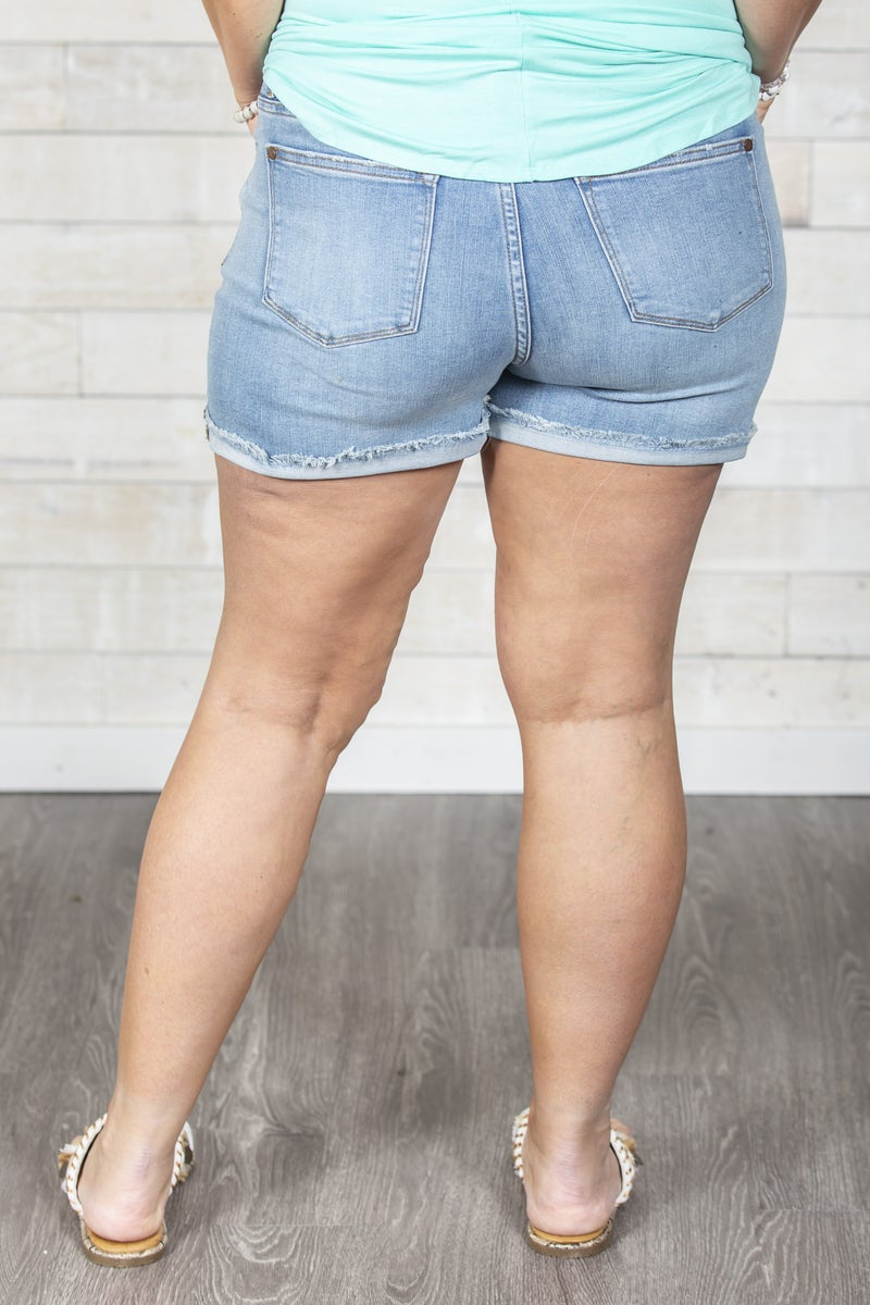 Off The Cuff Judy Blue Shorts