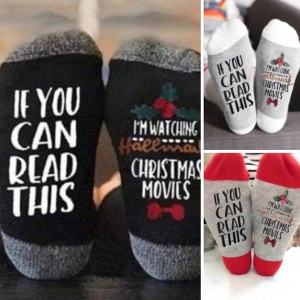 Christmas Movie Socks