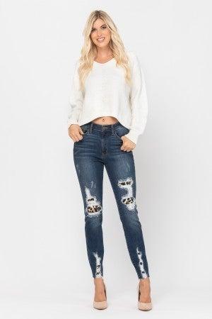 Leopard Love Judy Blue Jeans