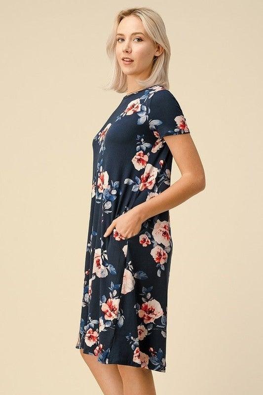 Fierce in Floral Dress