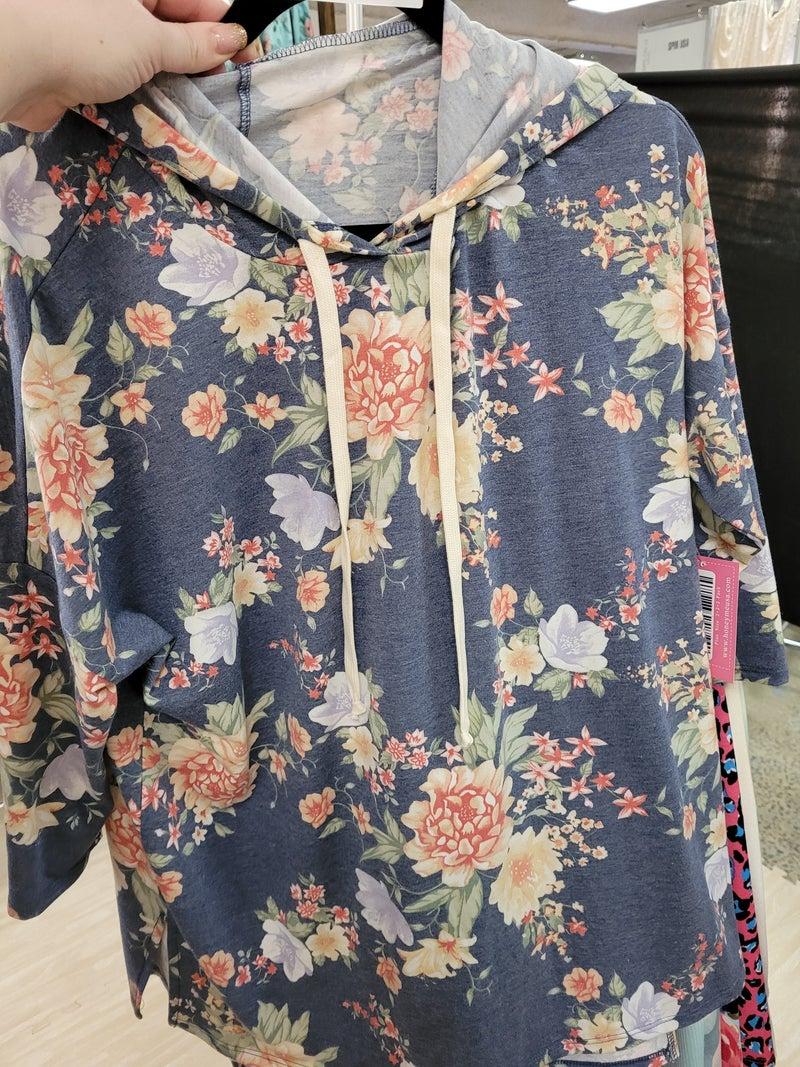 HONEY ME DALLAS SPECIAL Floral Hoodie
