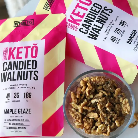 Fearless Keto Candied Walnuts