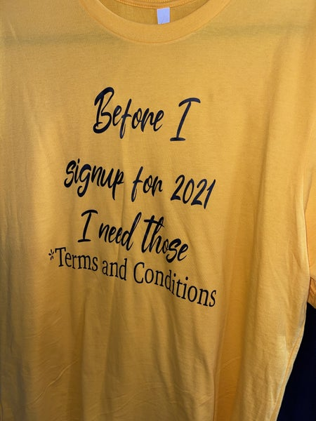2021 TERMS GRAPHIC TEE