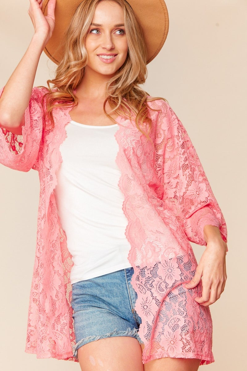 All Laced Up Cardigan