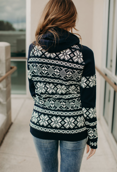Frosty Doublehood Sweatshirt