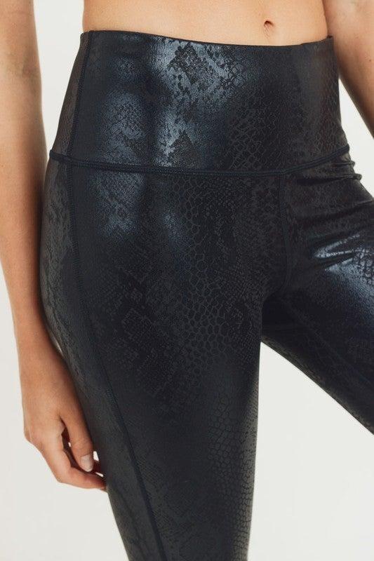 Snake Foil High Waist Legging