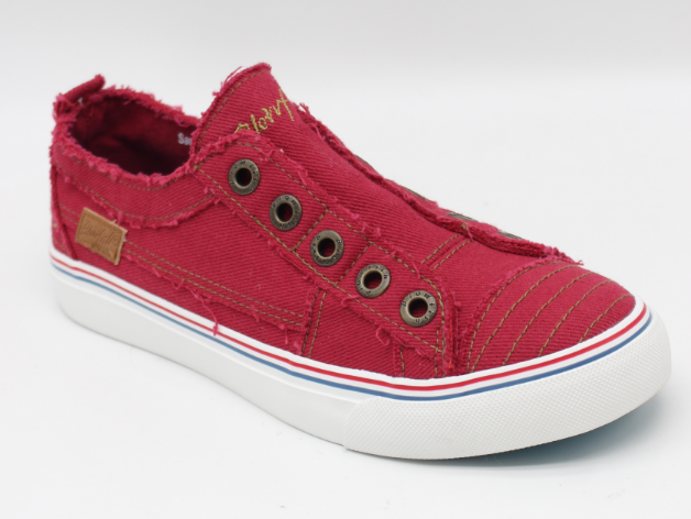 Jester Red Play Blowfish Sneakers