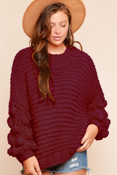 Blowing Bubbles Sweater