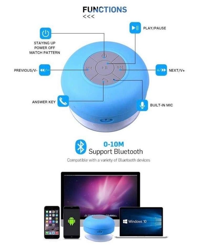 Waterproof Bluetooth Shower Speakers!