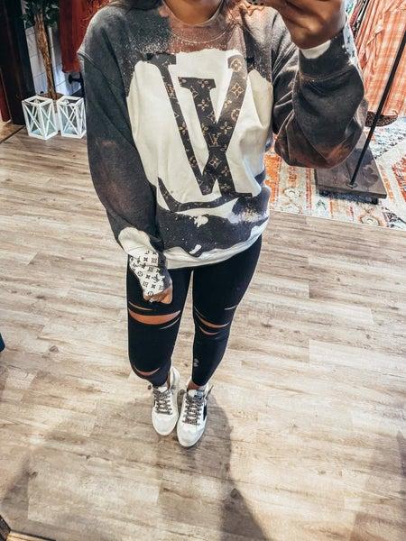 LV bleach sweatshirt PREORDER