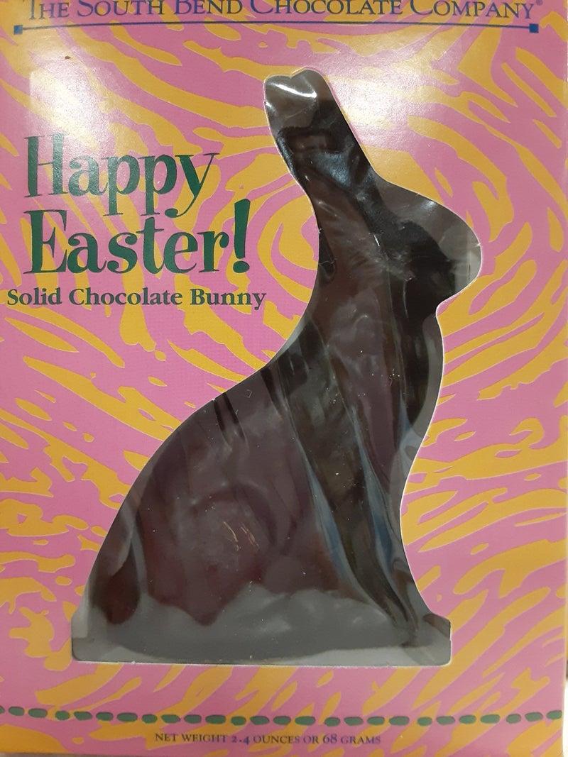 Dark Chocolate Solid Bunny
