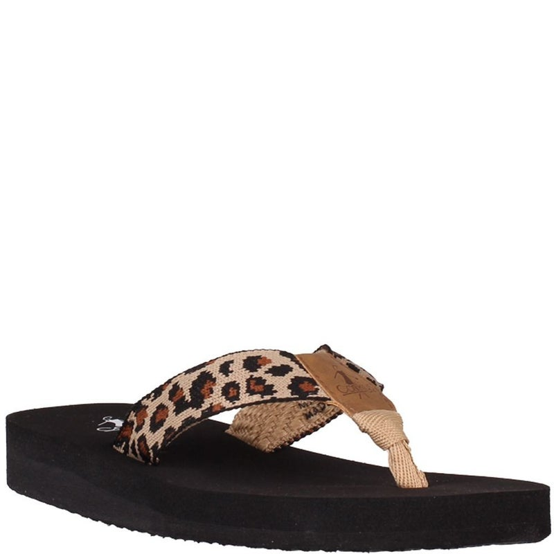 Cheetah Sandals