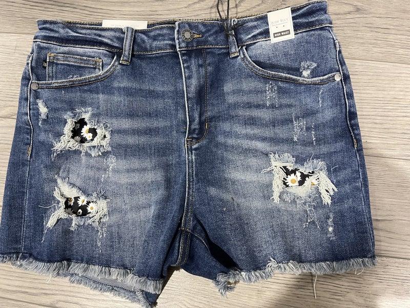 Daisy Judy Blue Shorts