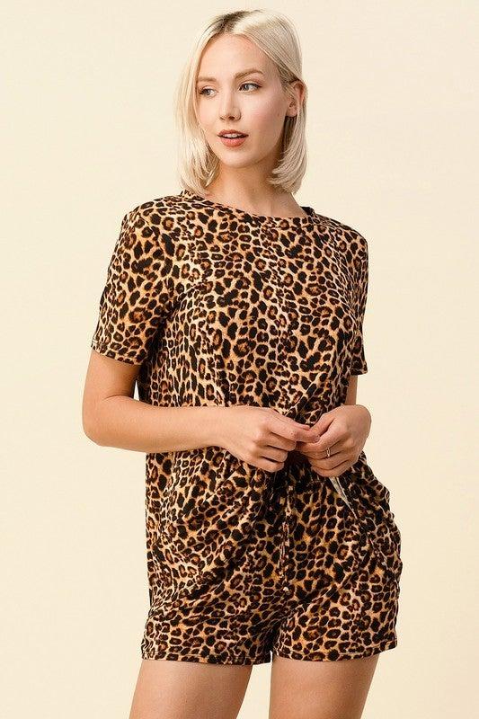 Cheetah Dreams Lounge Set