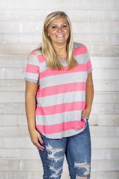 Cute In Stripes