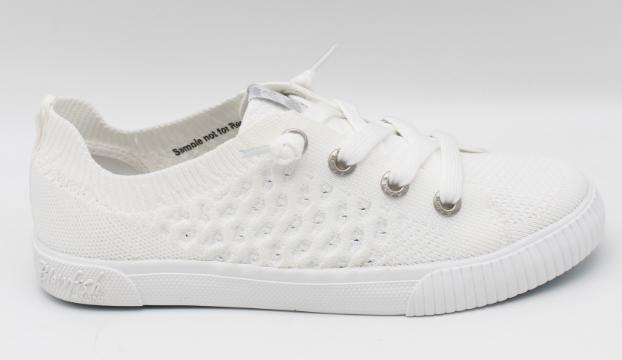White Free Spirit Knit Blowfish Sneakers