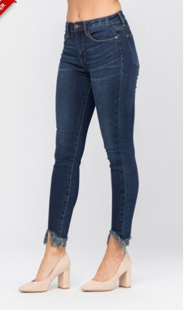 Judy Blue Non Distressed Shark Bite Jeans