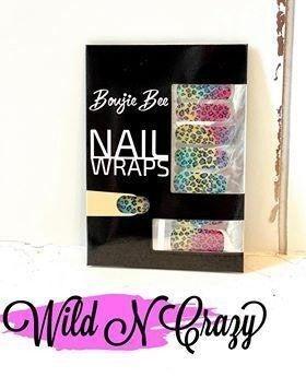 Bougie Bee Nail Wraps