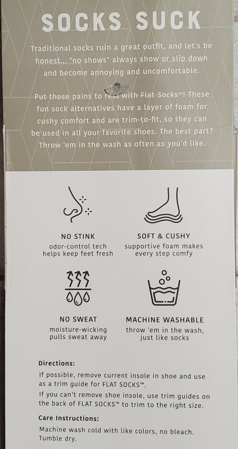 Men's Micro Wool Powerstep Flat Socks