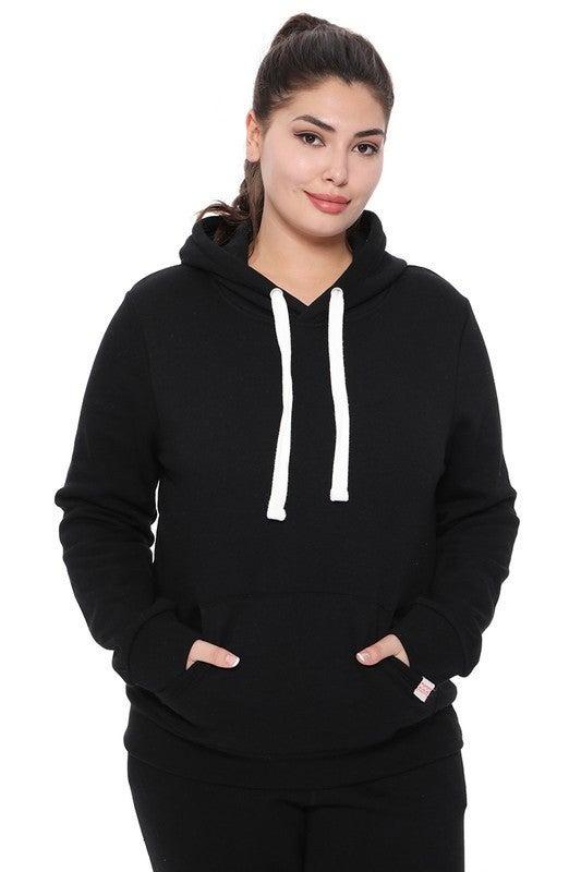 Cozy Fleece Pullover Hoodie