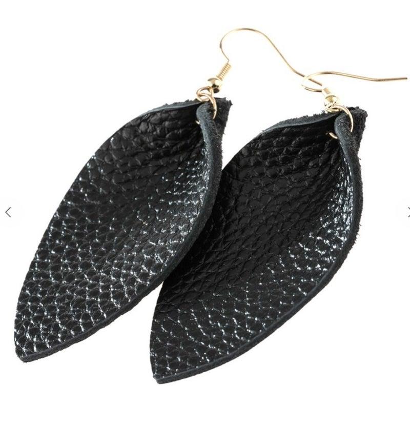 Pinched Teardrop Earrings