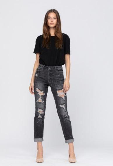 Girls Night Out Bleach Splash Judy Blue Jeans