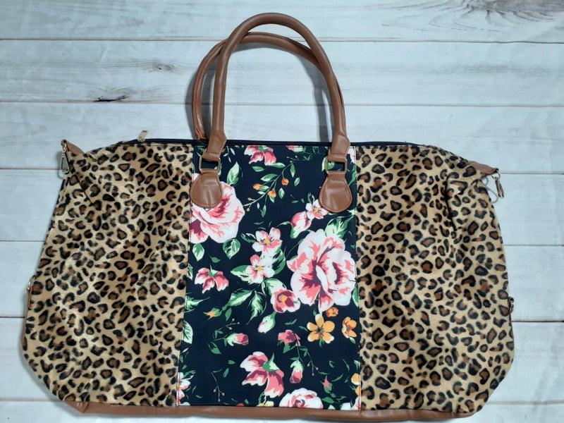 Floral Weekender Bags